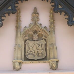 Fulham Palace Coat of Arms (after restoration) 2011