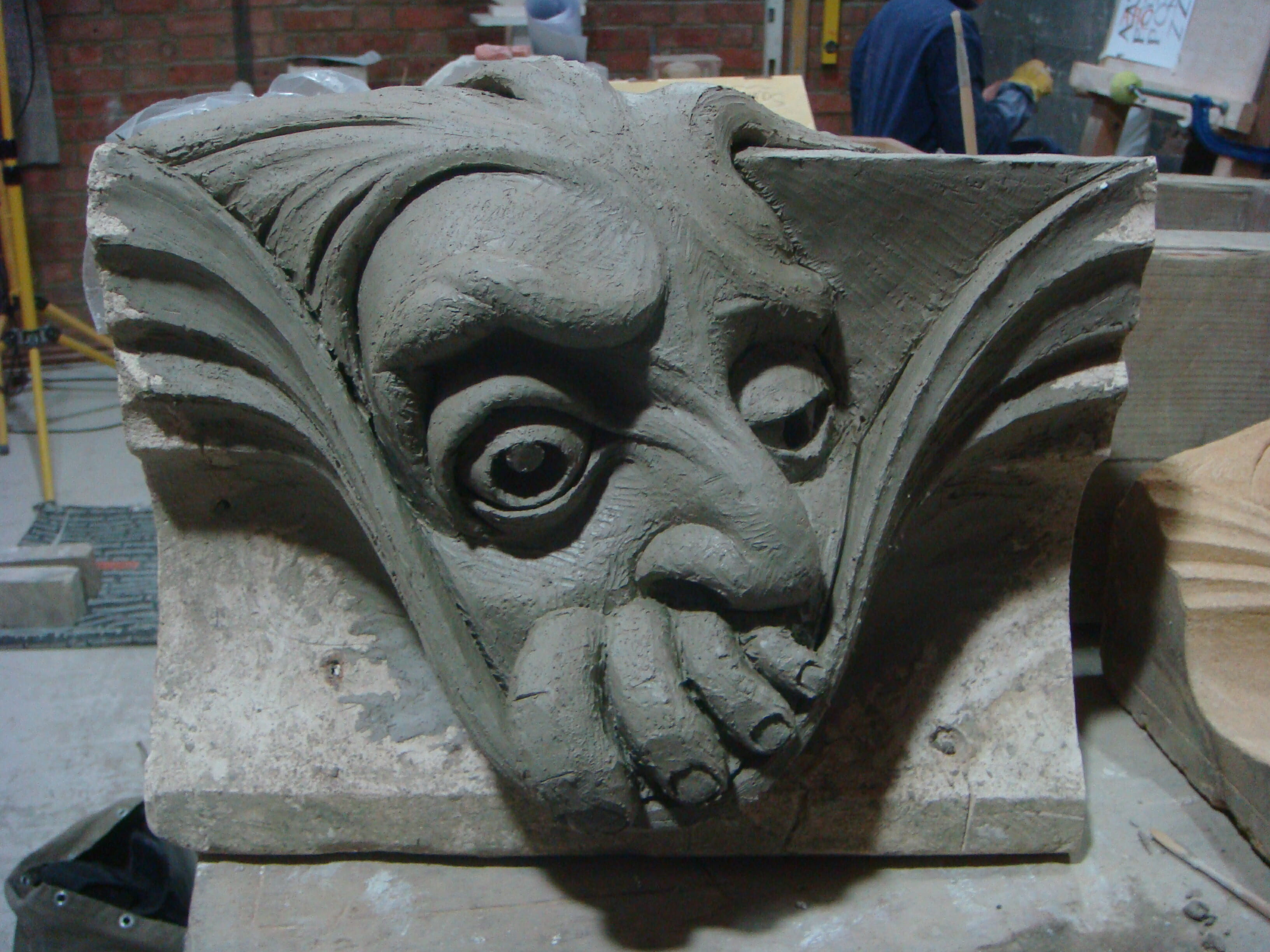 Sculpture tom j nicholls sculptor stone carver