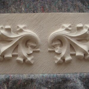 Oak Leaves, Portland Stone, 2011