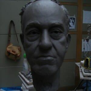 Portrait study of Dwight, Clay, 2011