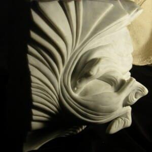 Vortex Horse Carrara Marble, 2009 (view 2))